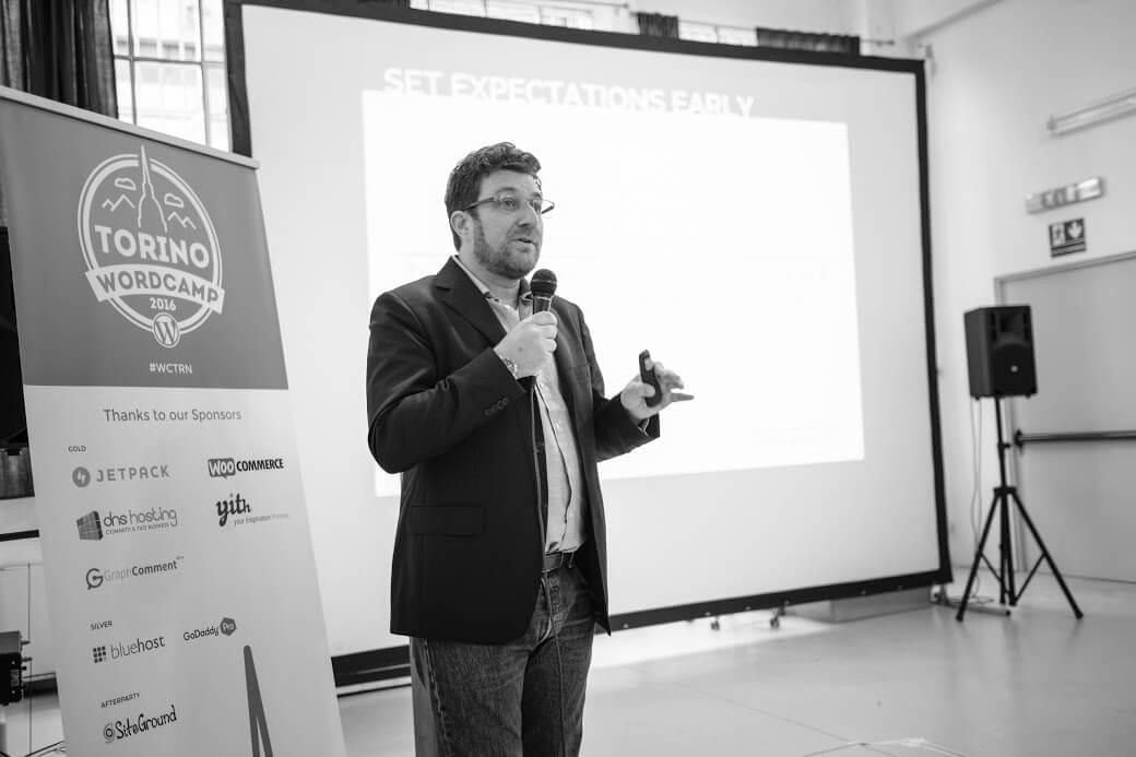 Karim Marucchi @ WordCamp Torino