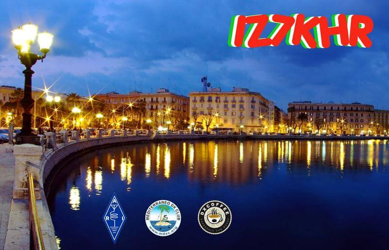 IZ7KHR Hamradio QSL Card