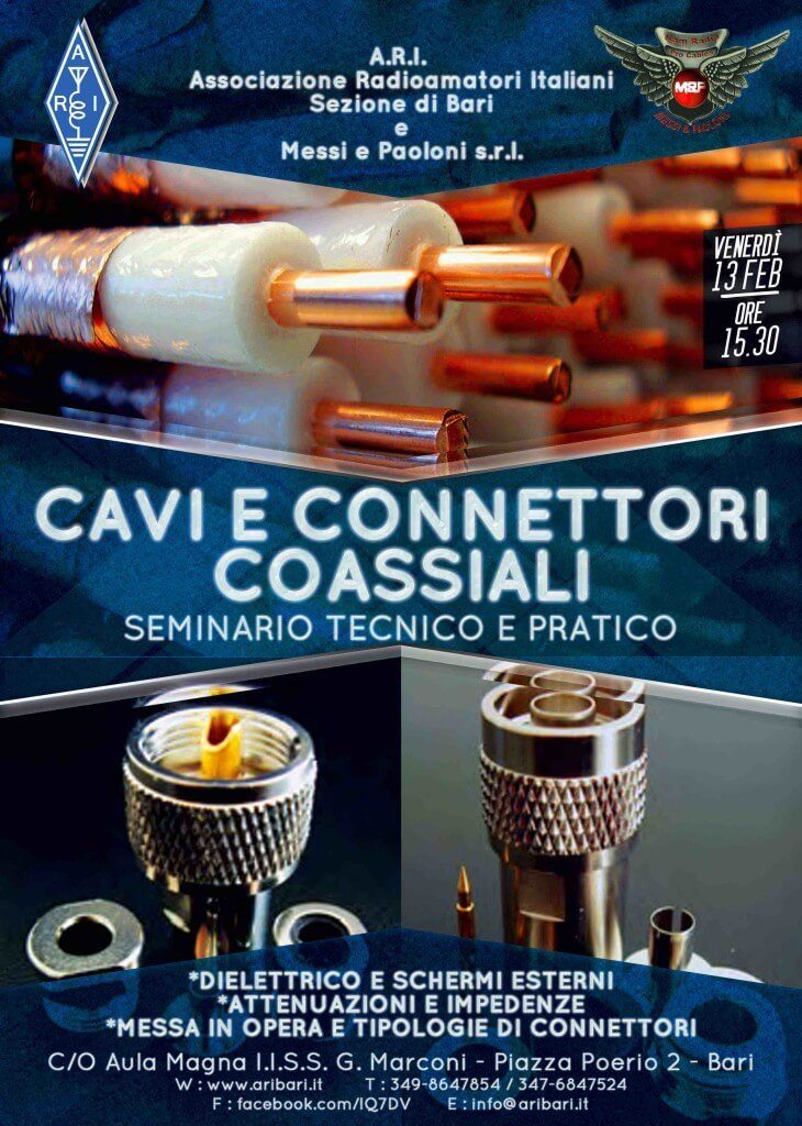 Seminario Cavi Coassiali design grafico